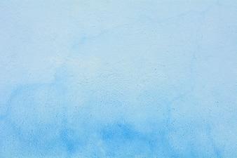 Blue cement wall - closeup