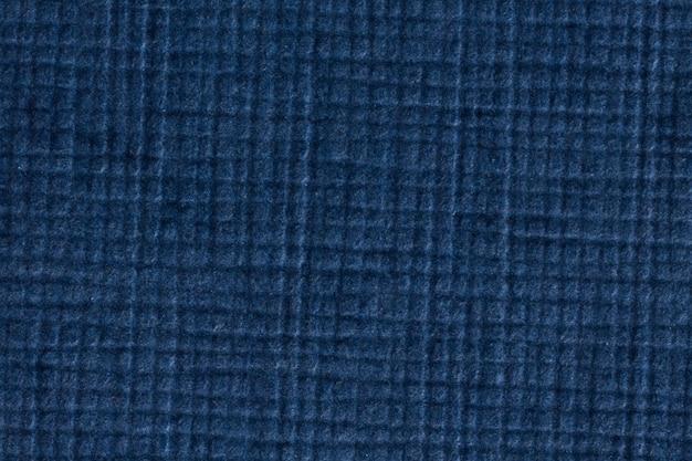 Синий проверил фон текстуры бумаги, макросъемки. фотография высокого разрешения.