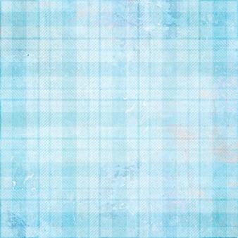 Controllato blu tessitura