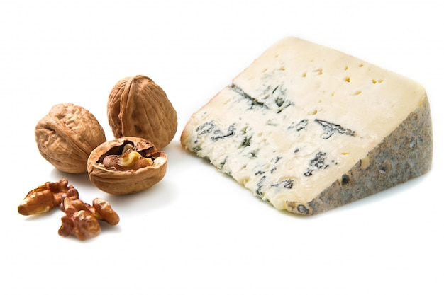 Blue cheese with walnut