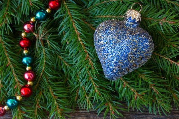 ブルークリスマスハート
