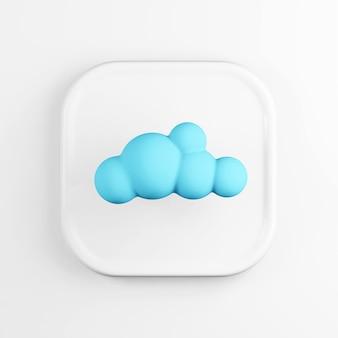 Значок синего облака.