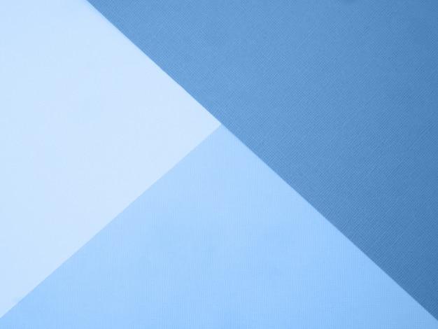 青い色の抽象的な紙の背景