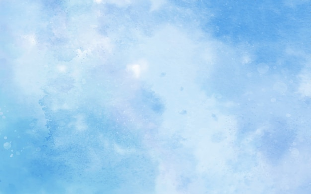 Blue color watercolor background