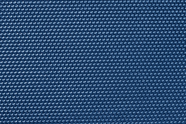 Blue colored honeycomb pattern wallpaper