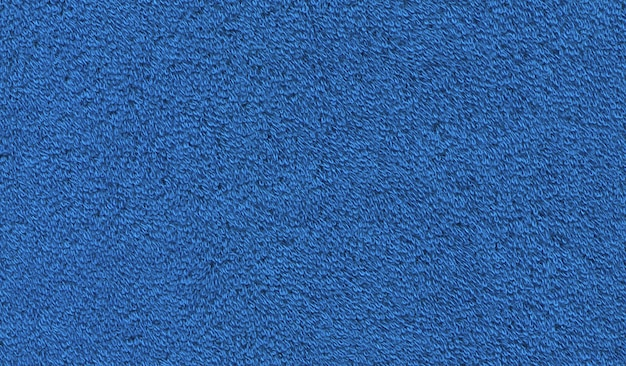 Blue cotton bath towel texture