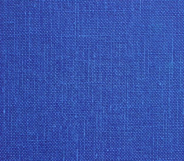 Blue cotton texture