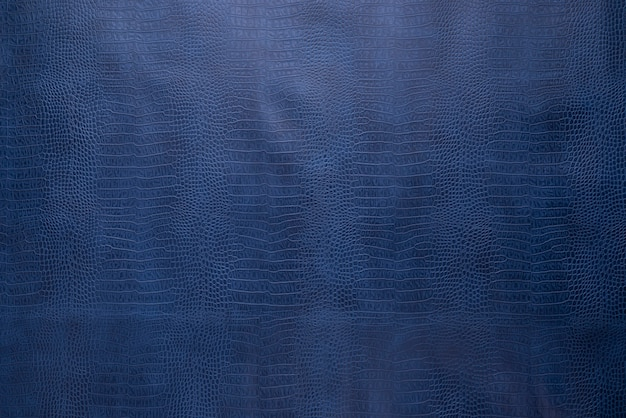 青いワニ革の皮の形状の背景