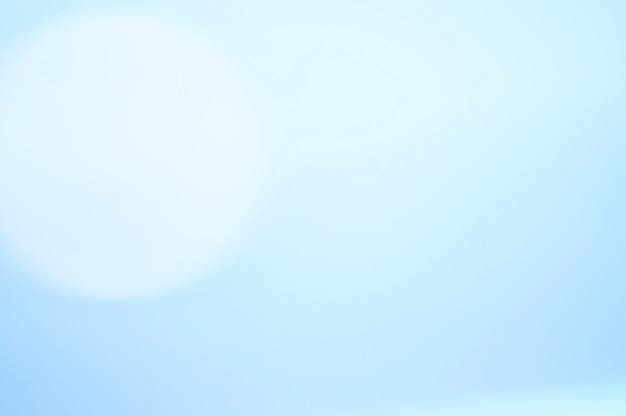 Синий расфокусированный фон