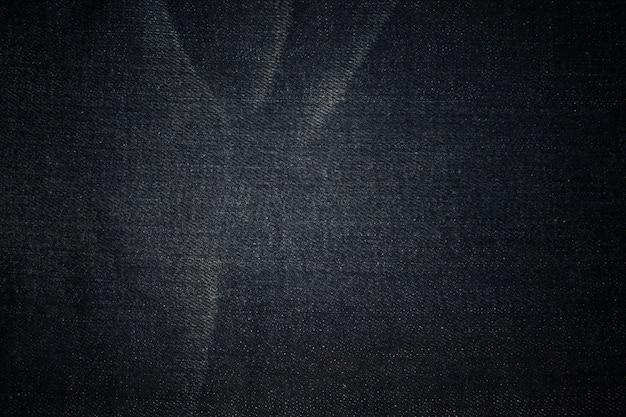 Blue denim jeans texture background Premium Photo