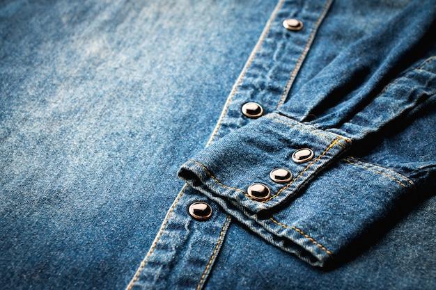 Blue denim shirt Premium Photo