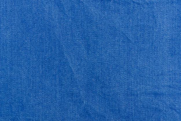 Blue denim texture. close up