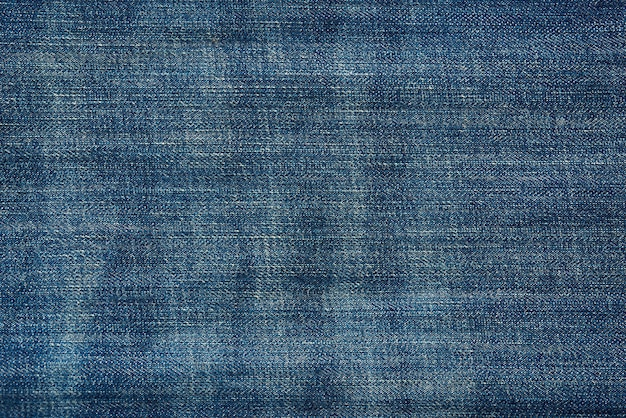 Blue denim texture, sewing fabric, full frame, close up