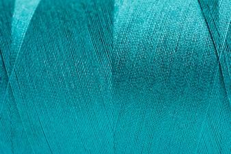 Blue fabric closeup