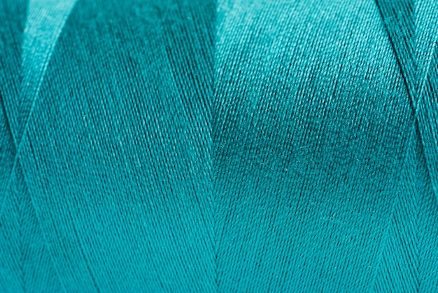 Blue fabric closeup