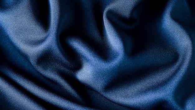 青い布のテクスチャ