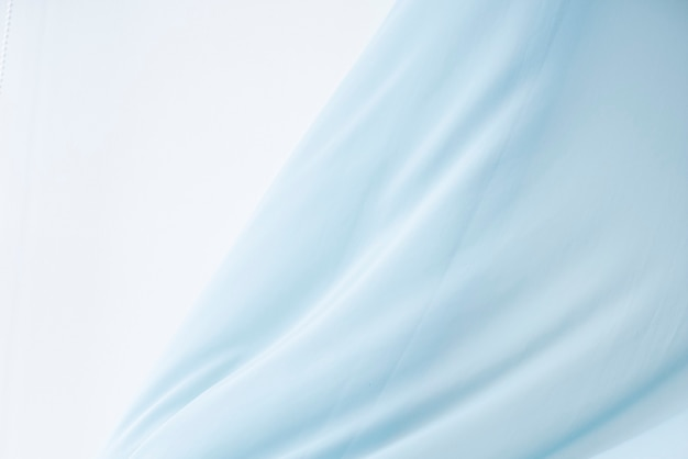 Blue fabric motion background