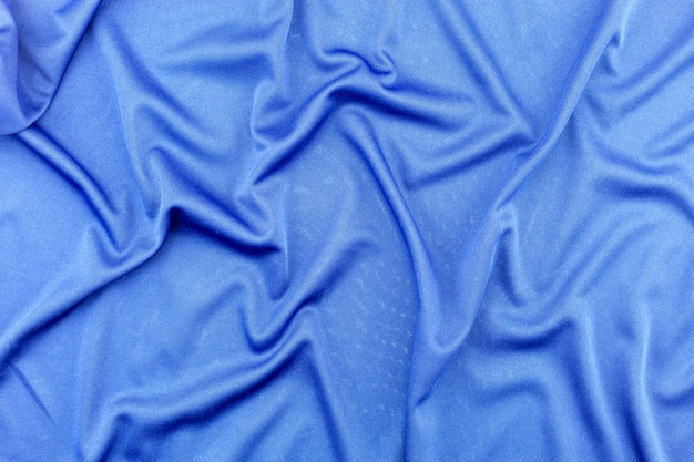 Blue fabric pattern for background and design