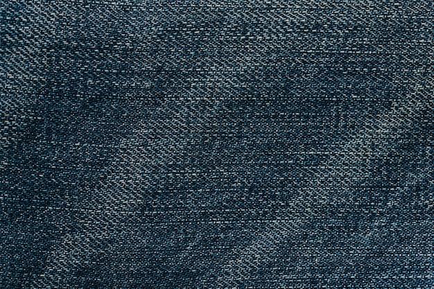 青い布の敷物の織り目加工の背景