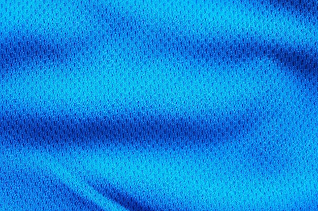 Blue fabric sport clothing texture