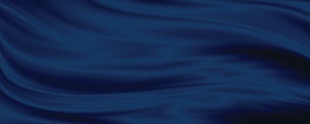 블루 패브릭 질감 배경 3d 그림