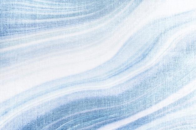 Голубая жидкость текстурированная фоновая иллюстрация