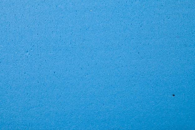 Blue foam rubber texture background.