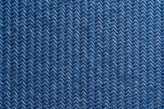 Blue garment fabric texture.