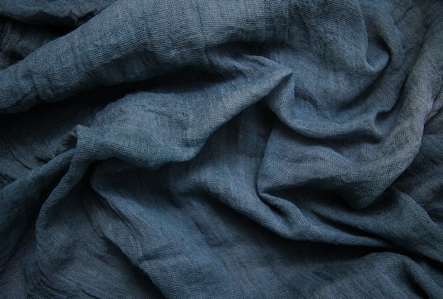 Blue gauze background