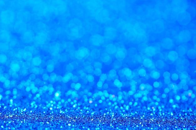 Blue glitter texture.