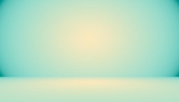 Синий градиент абстрактный фон пустая комната с пространством для вашего текста и изображения