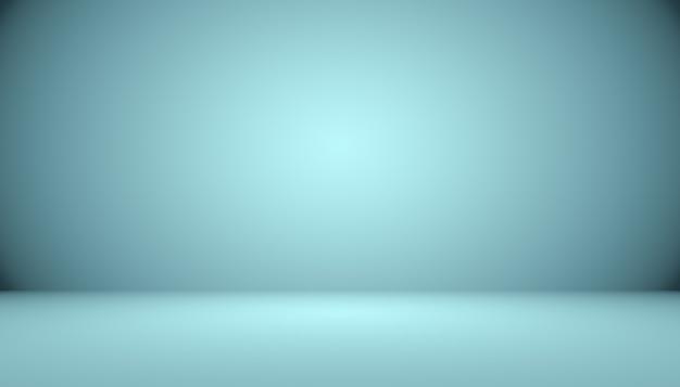 Синий градиент абстрактного фона пустая комната с пространством для вашего текста и изображения. Бесплатные Фотографии