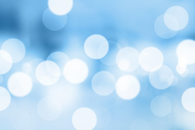 Blue gradient background or bokeh abstract design