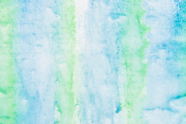 Blue and green painted texture background