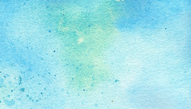 Blue & green watercolor background