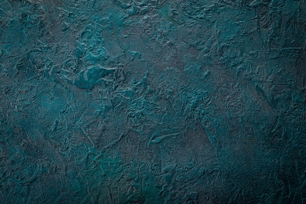 Blue grunge surface, background