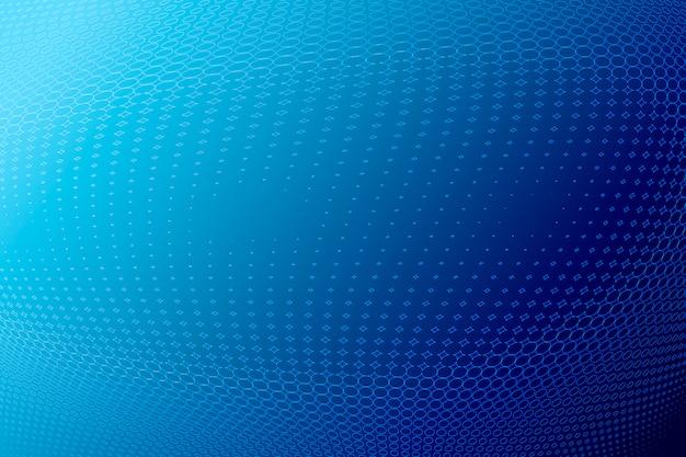 青いハーフトーンの背景、コピー領域の図