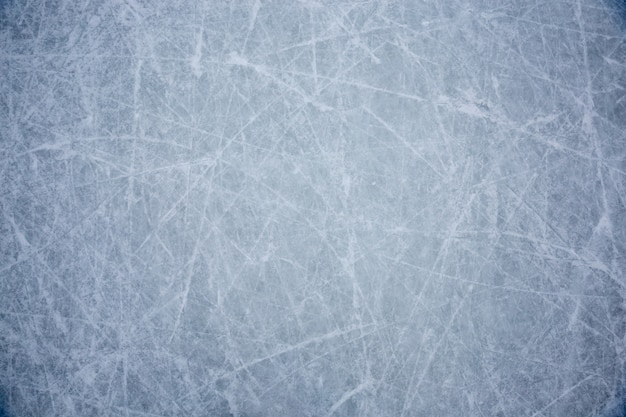 Blue ice texture background with scratchers