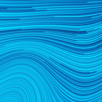 Blue illustration with lines. turquoise, cobalt, navy speed line or wind motion abstract background. glowing shiny energy waves on dark blue backdrop, digital halftone pattern