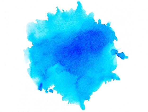 色合いの水彩画blue.image