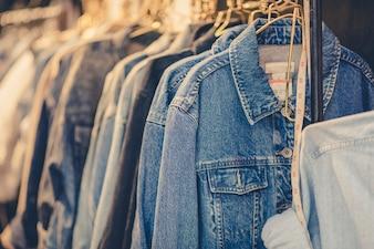 Blue jeans shirt ,vintage