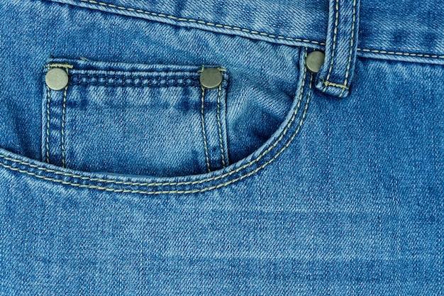 Blue jeans texture