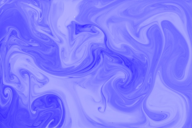Blue and lavender mixed paint color background