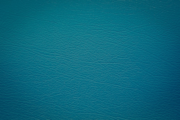 Blue leather with texture background