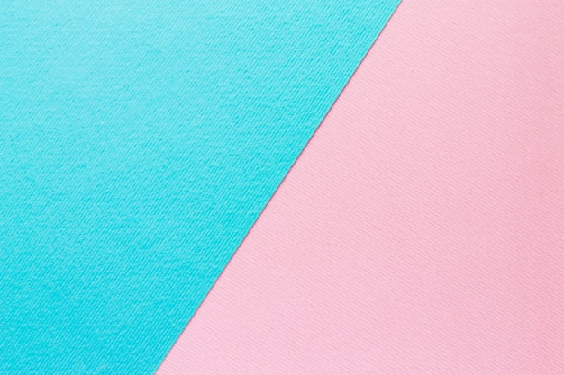 Blue and light pink pastel paper background