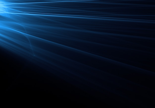 Blue light streak background