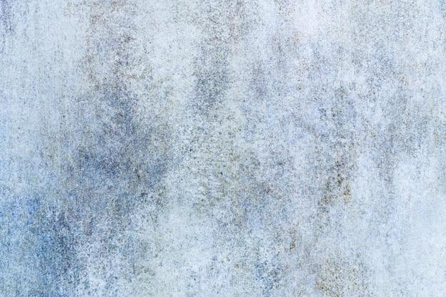 青い大理石のグランジの背景。