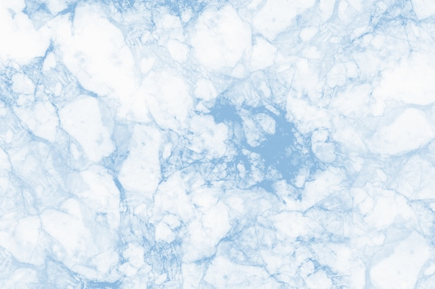 Blue marble texture and background for design.
