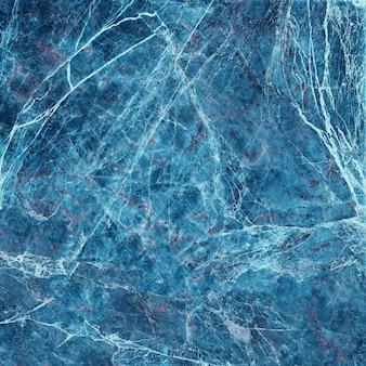青い大理石のテクスチャの背景