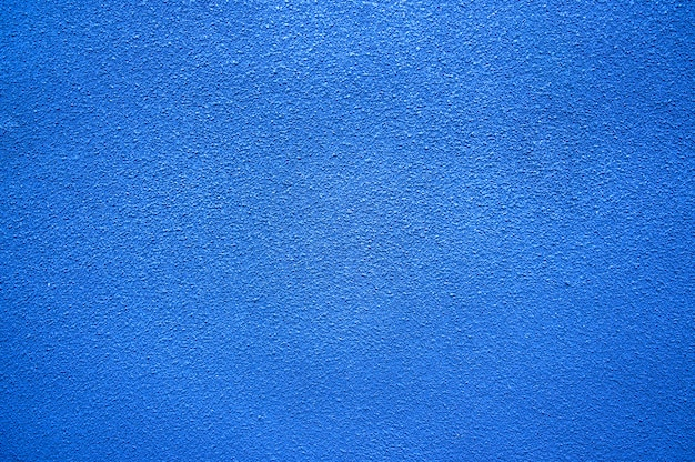 Blue marine ocean color painted concrete wall texture backgrond